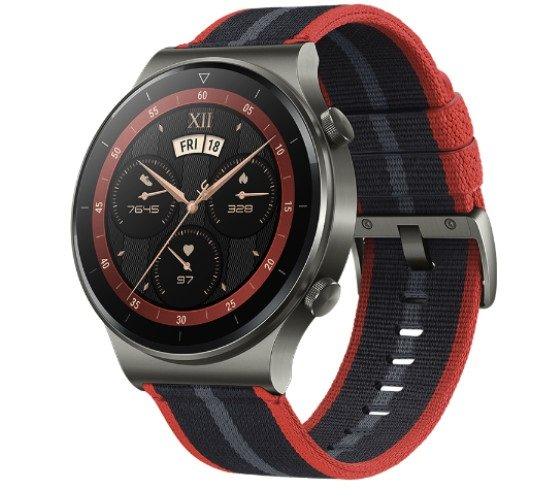 Стартовали продажи новогодней версии Huawei Watch GT 2 Pro в Китае