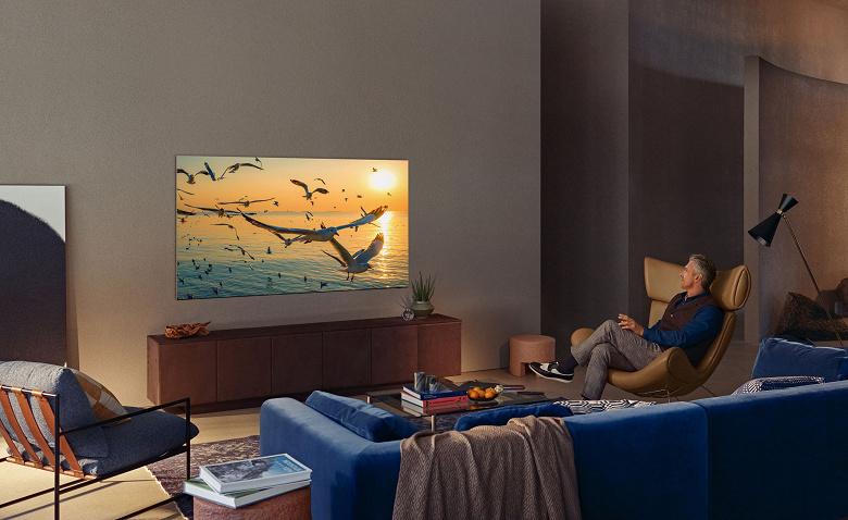 Встроенный тренер, видеочаты и многое другое: Samsung представила телевизоры Neo QLED на основе Quantum Mini LED