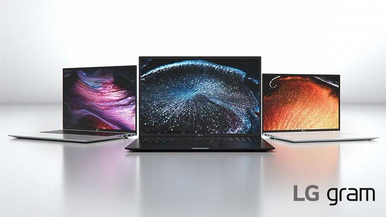 Представлены легчайшие неубиваемые ноутбуки LG Gram 2021 с процессорами Tiger Lake и графикой Intel Iris Xe
