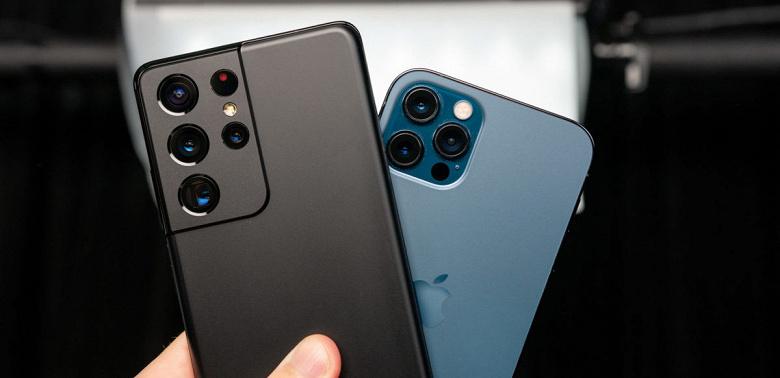 Битва камер SamsungGalaxyS21Ultra и iPhone 12 Pro Max. Какой аппарат лучше?