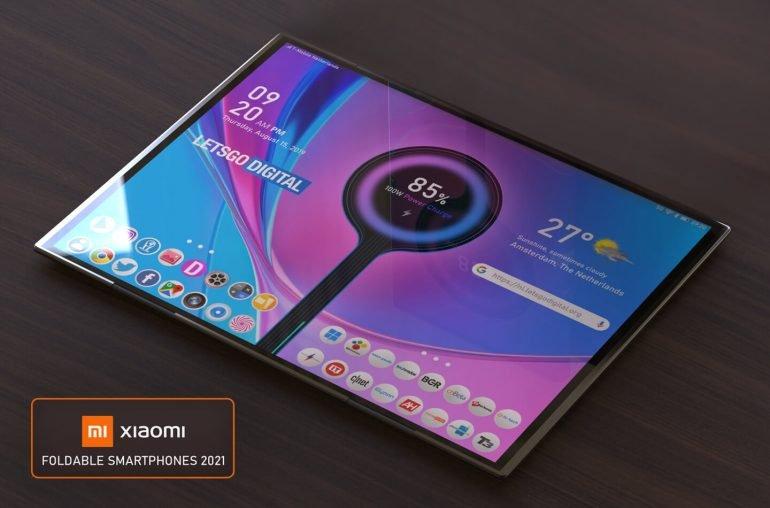 Россыпь экстравагантных новинок Xiaomi 2021 года. Компания запатентовала сразу 7 складных смартфонов