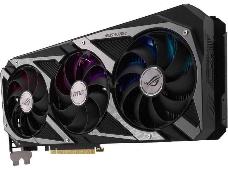 Представлена видеокарта Asus GeForce RTX 3060 ROG Strix