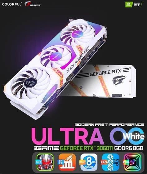 Каталог Colorful пополнили еще две видеокарты RTX 3060 Ti