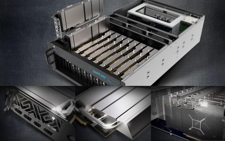 Sapphire GPRO X070 — вариант видеокарты Radeon RX 5700 XT с пассивным охлаждением
