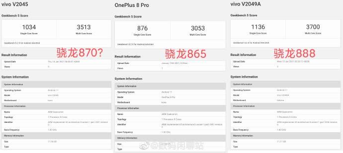 Почти как Snapdragon 888, только дешевле. В Сети, похоже, впервые засветилась SoC Snapdragon 870