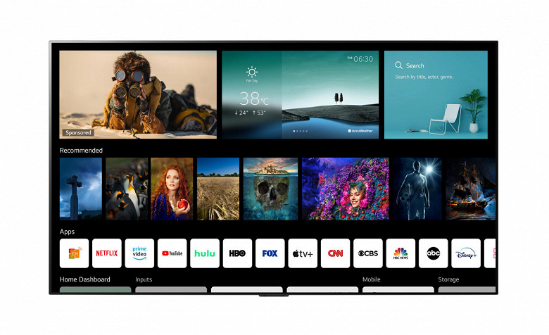 Самое масштабное обновление платформы webOS для умных телевизоров LG за всю историю и пульт ДУ с NFC для быстрого обмена контентом