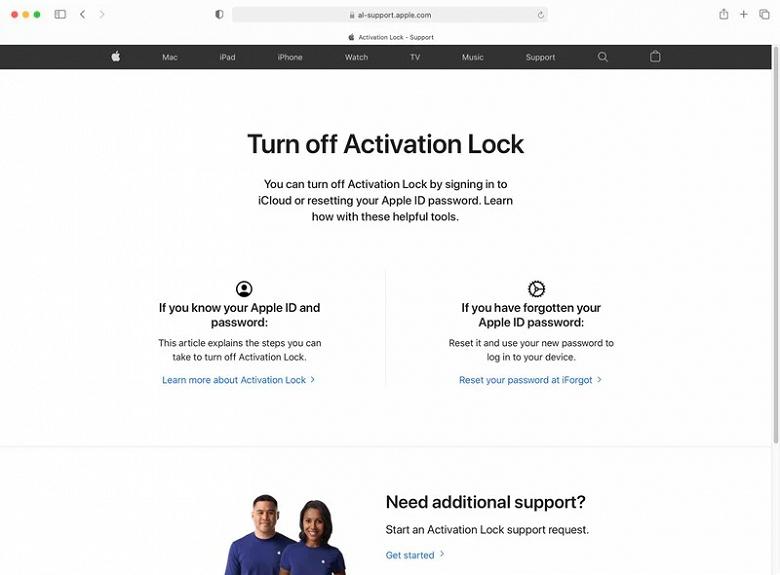 Запущен официальный портал для разблокировки iPhone, заблокированных Apple ради безопасности