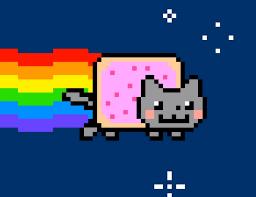 Знаменитую анимацию Nyan Cat продали на аукционе за 43 млн рублей