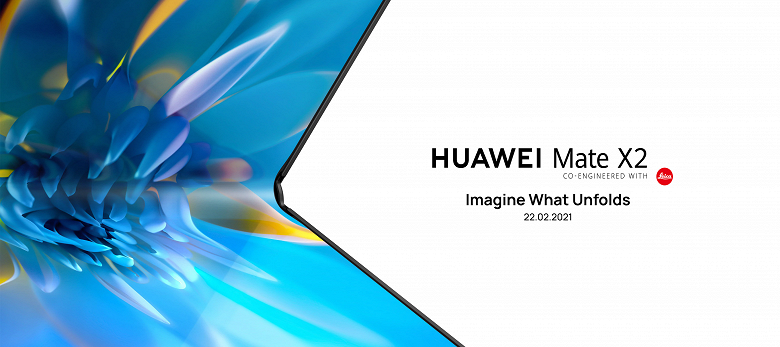 Похожий на Samsung складной смартфон Huawei Mate X2 оказался хитом до анонса
