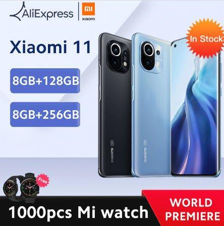 Бестселлер Xiaomi Mi 11 уже предлагают в Европе со скидкой и подарочными Xiaomi Mi Watch для самых быстрых