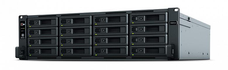 Представлены сетевые хранилища Synology RackStation RS3621RPxs, RS3621xs+ и RS4021xs+