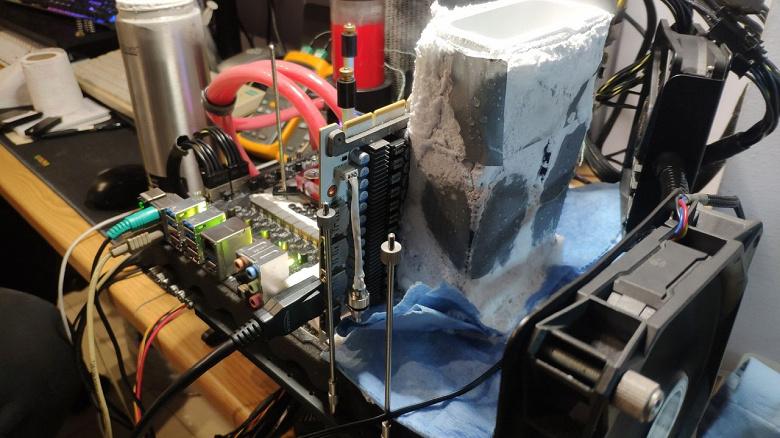 GeForce RTX 3090 на сумасшедшей частоте свыше 3 ГГц. Видеокарты Galax RTX 3090 HOF подвергли экстремальному разгону