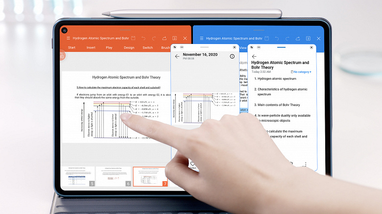 Праздник у пользователей Huawei в России. Планшеты MatePad Pro и MatePad M6 получили большое обновление EMUI 11