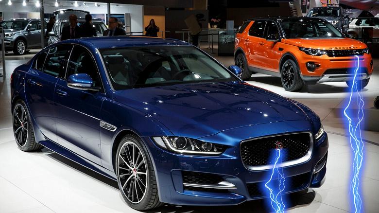 Jaguar Land Rover отказывается от автомобилей с двигателями внутреннего сгорания