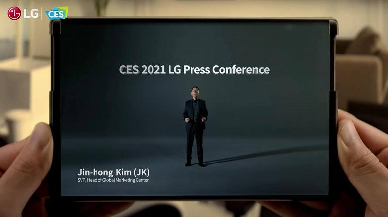 Samsung анонсировала дисплеи-свитки и раздвижные экраны