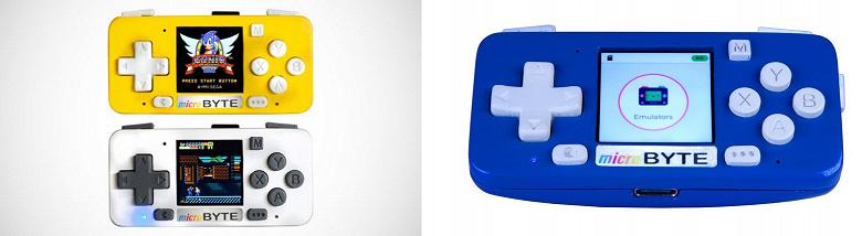 Представлена портативная консоль для игр с NES, GameBoy, GameBoy Color, Game Gear и Sega Master System