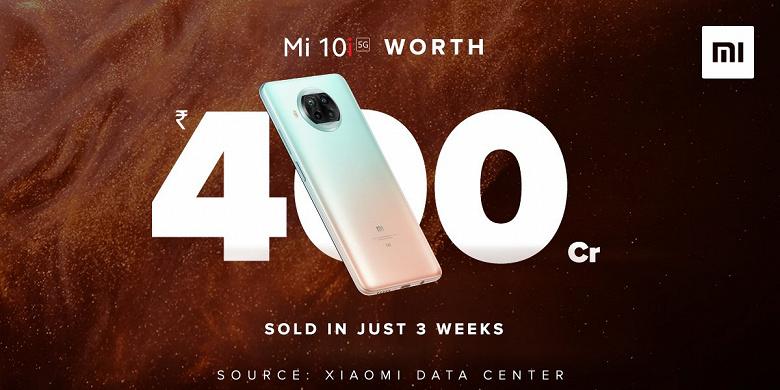 Недорогой Xiaomi Mi 10i оказался настоящим хитом. За три недели — на 55 млн долларов