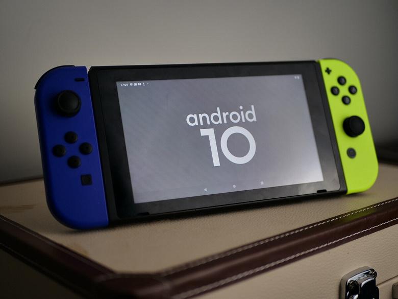 Вышла новая версия Android для игровой приставки Nintendo Switch