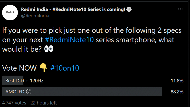 Redmi пошла на поводу у пользователей: фото коробки подтвердило экран AMOLED у Redmi Note 10