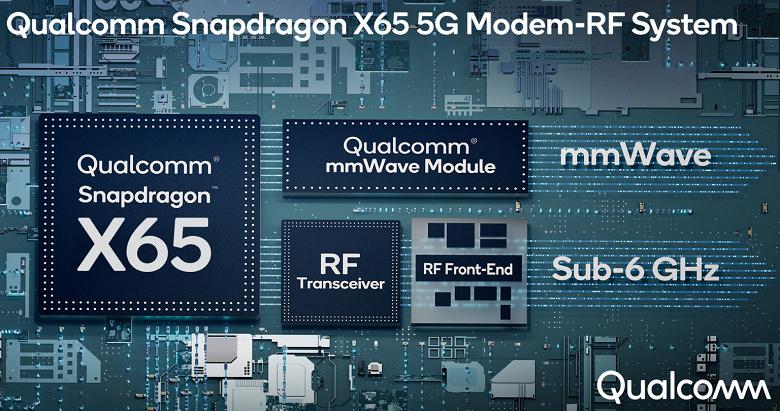 10 Гбит/с в смартфоне. Qualcomm представила модем Snapdragon X65 5G на «обновляемой архитектуре» для iPhone 13