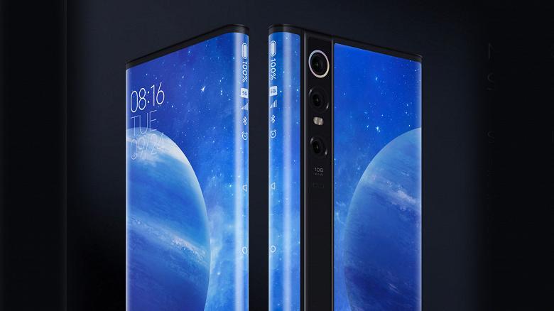 Следующий Xiaomi Mi Mix Alpha с опоясывающим дисплеем на новых изображениях