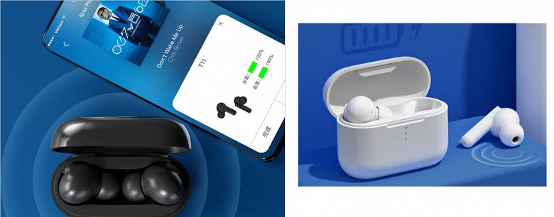 TWS-наушники с шумоподавлением и зарядкой за 10 минут, недорого. На Xiaomi Youpin представлены QCY T11
