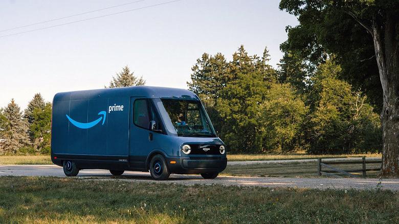Будущее коммерческого транспорта. Amazon начала использовать электрические фургоны Rivian для доставки товаров