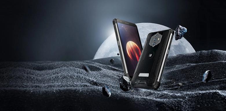 Этот смартфон с 5,7-дюймовым экраном нужно заряжать всего дважды в месяц. Представлен Blackview BV6600