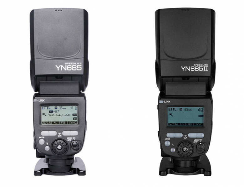 Представлена вспышка Yongnuo YN685 II для камер Canon и Nikon