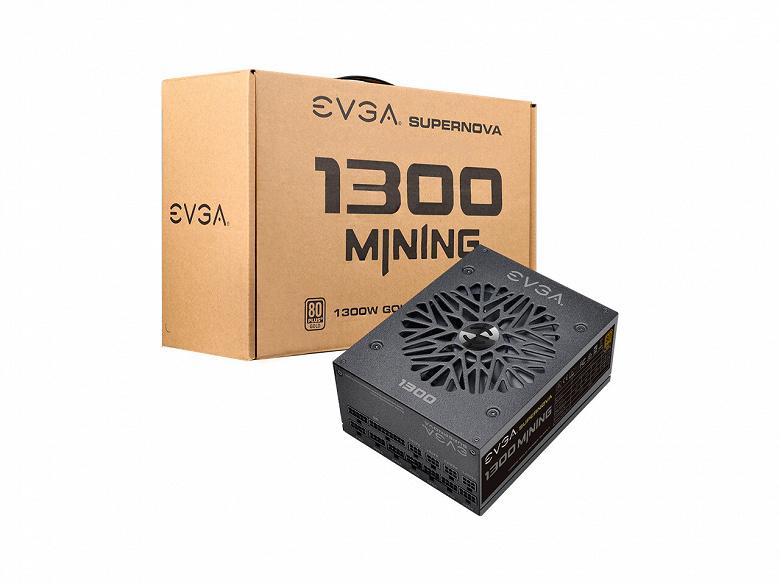 Блок питания EVGA SuperNova 1300 M1 адресован добытчикам криптовалют