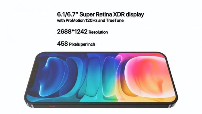 Чёлка никуда не делась: изображения и характеристики iPhone 13 Pro