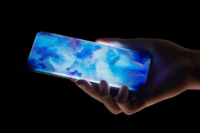 Представлен революционный смартфон Xiaomi. Его экран-водопад загнут со всех сторон