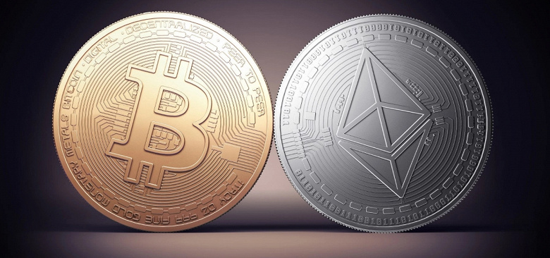 Капитализация Bitcoin превысила 1 трлн долларов. Etherium тоже установил новый рекорд