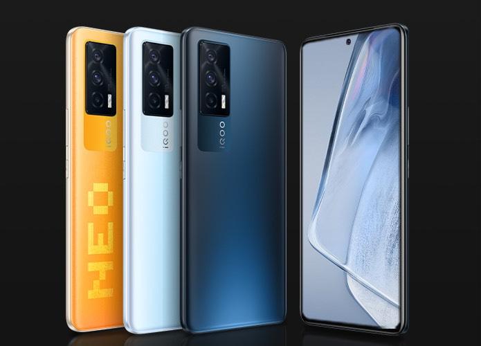 Доступные AMOLED, 120 Гц, Snapdragon 870, 12 ГБ и 66 Вт. Стартовали продажи iQOO Neo 5 5G