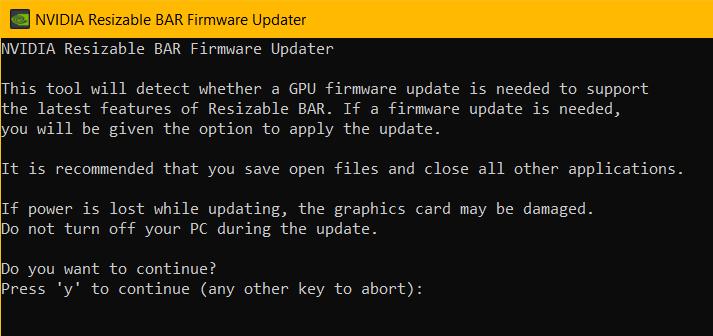 Galax и Gainward выпускают обновления BIOS для видеокарт GeForce RTX 3090, 3080, 3070 и 3060 Ti с поддержкой ResizableBAR