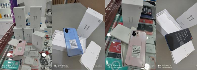 Xiaomi Mi 11 Lite уже продаётся в Европе. Живые фото смартфоны и его упаковки