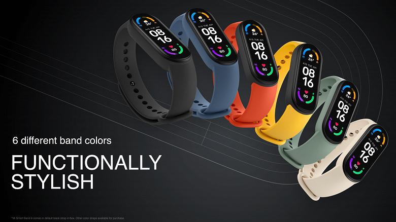 Фитнес-браслет Xiaomi Mi Smart Band 6 сразу же поступил в продажу в Европе