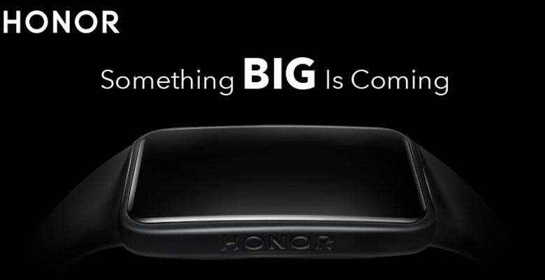 Xiaomi Mi Band 5 рядом с ним кажется очень маленьким. Браслет Honor Band 6 готовится к выходу на международный рынок