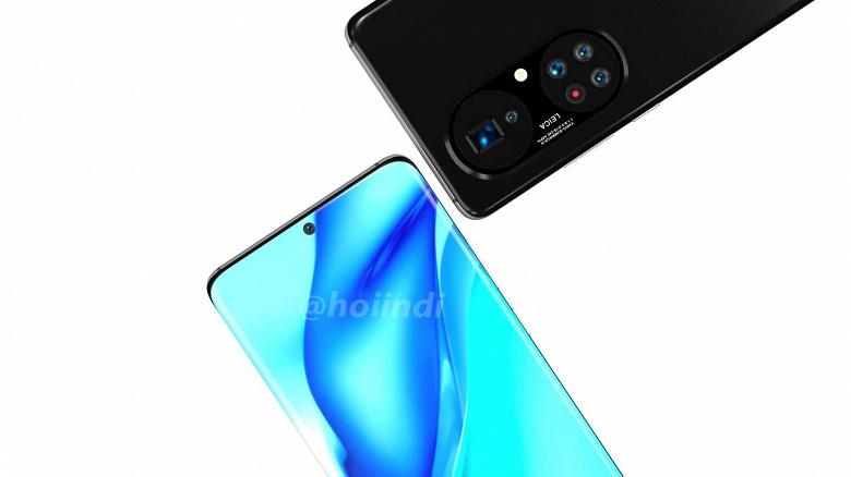 Появились первые изображения Huawei P50 Pro Plus