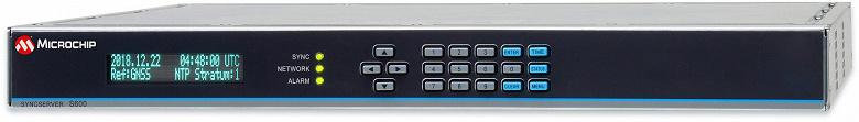 Сервер времени Microchip SyncServer S600 защищен от помех и сбоев GPS