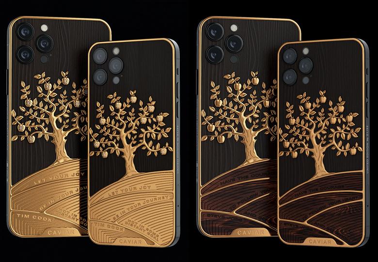 В России представлены уникальные Apple iPhone 12 Pro и iPad Pro с цитатамиТима Кука и Стива Джобса