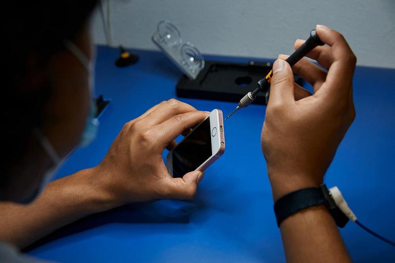 Apple предложила желающим ремонтировать её продукцию во всём мире