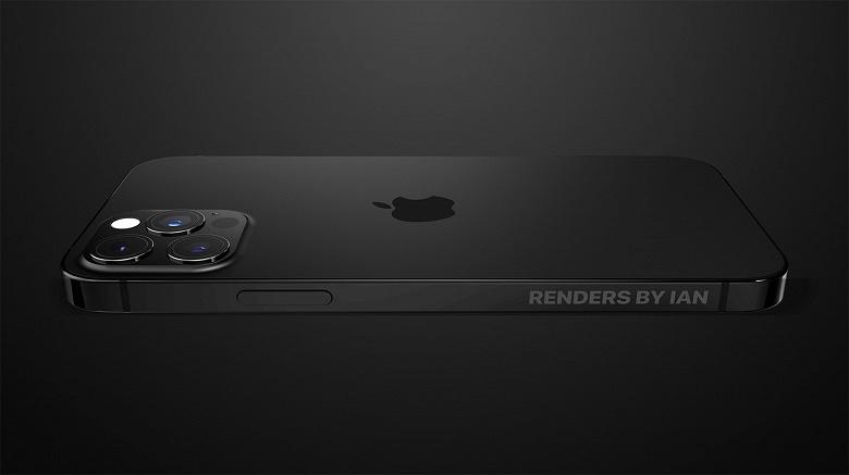 Чёрный матовый iPhone 13 Pro показали с разных сторон