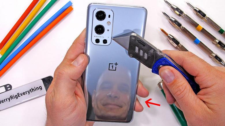 Новейший смартфон OnePlus 9 Pro с камерой Hasselblad уже проверили на прочность и даже подожгли