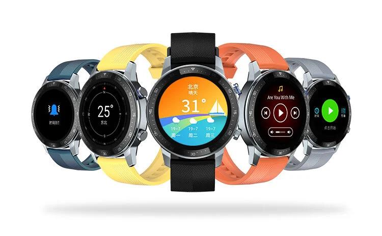 Круглый AMOLED-дисплей, GPS, 5 АТМ, SpO2 и три недели без подзарядки. Представлены умные часы ZTE Watch GT