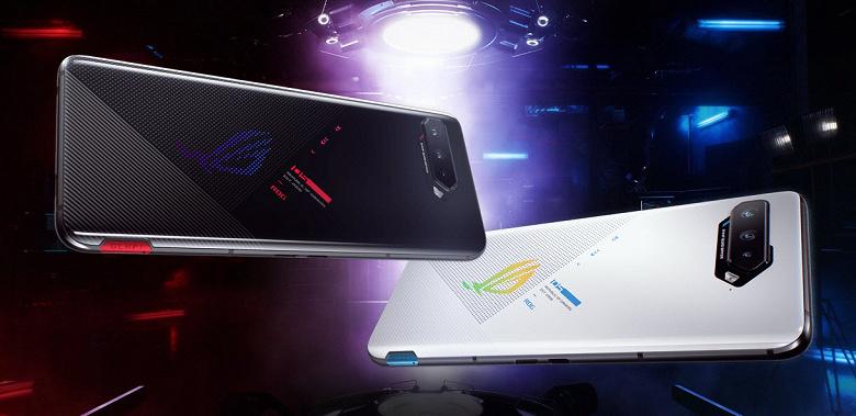 Представлены смартфоны Asus ROG Phone 5, ROG Phone 5 Pro и ROG Phone 5 Ultimate