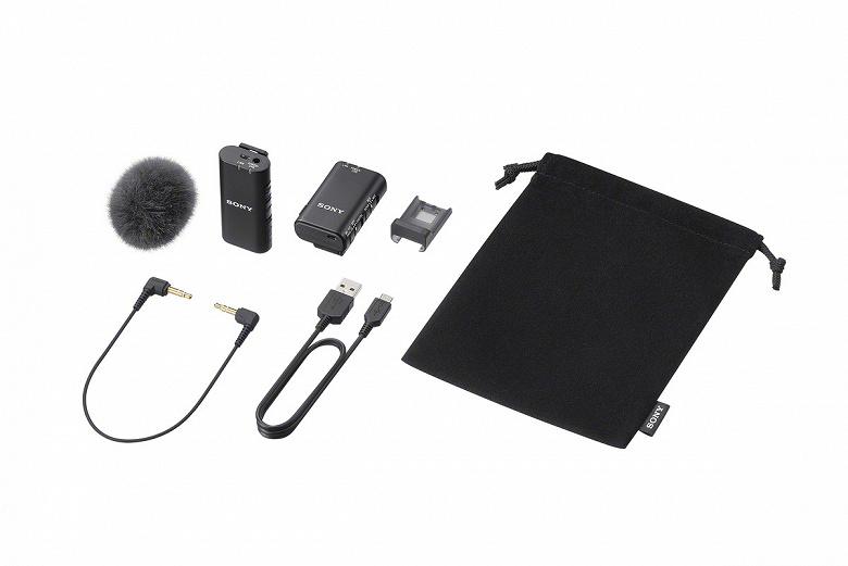 Представлены микрофоны Sony ECM-W2BT и ECM-LV1