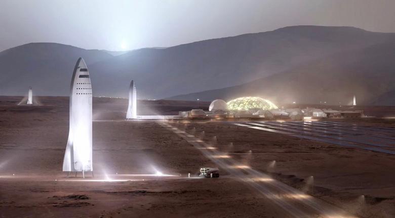 КосмическиекораблиSpaceX Starship начнут летать на Марс задолго до 2030 года