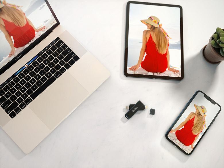 SanDisk выпускает свой первый флеш-накопитель «2-в-1» для передачи данных между iPhone и устройствами с USB-C