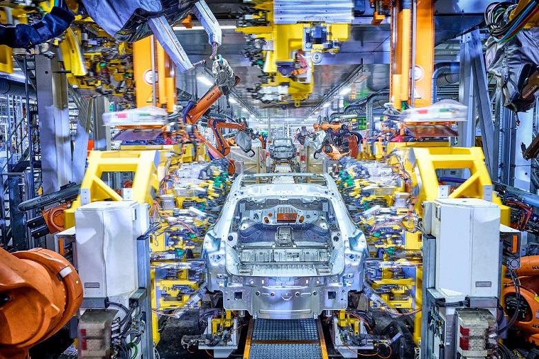 Начато производство электромобилей Audi Q4 e-tron